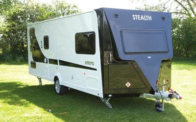 Stealth T58 Caravan exterior
