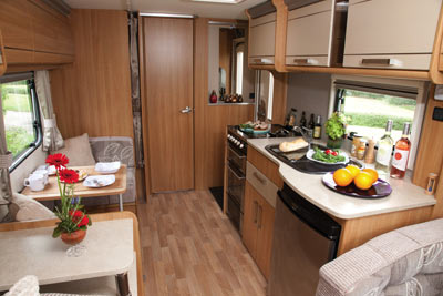 Coachman kitchen area