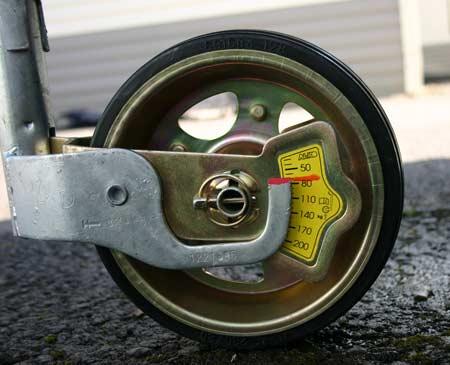 alko jockey wheel noseweight gauge