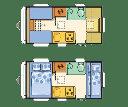 floorplan Adria