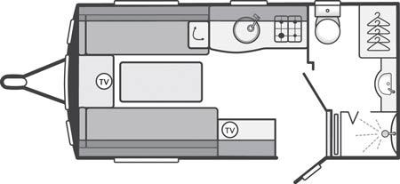 Swift Challenger 480 SE Floor-plan