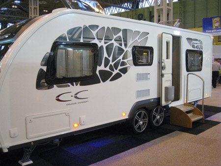 Swift Colour Concept Caravan External Graphics