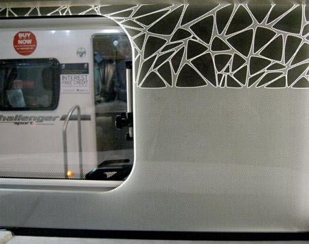 Swift Colour Concept Caravan Illuminated Splash Back