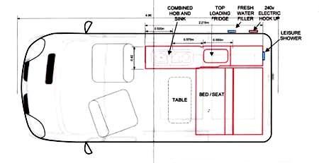 Hillside Leisure Ellastone 2013 floorplan