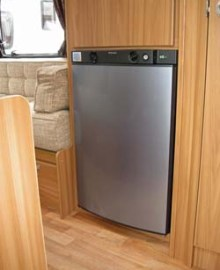 Lunar Ariva two-berth caravan fridge