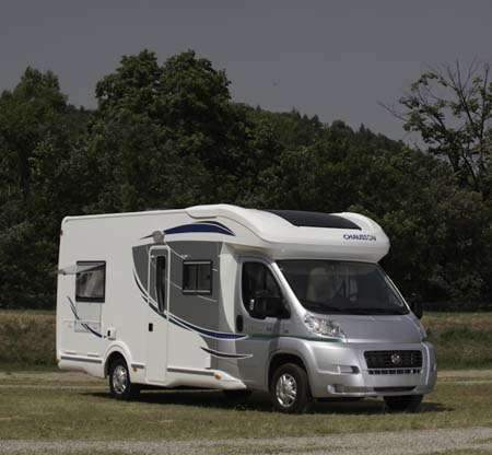 2013 Chausson Welcome 69 low profile motorhome