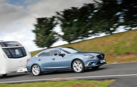 Mazda 6 2.0 165 Sport caravan tow car