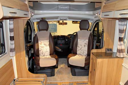 Bailey Approach Compact 540 Motorhome Cab