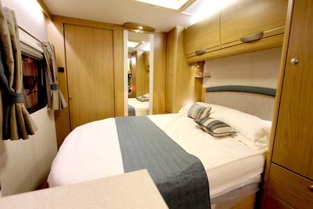 Elddis Compass Rallye 554 Bedroom