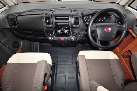 Adria Sonic Plus I 700 SC motorhome cab
