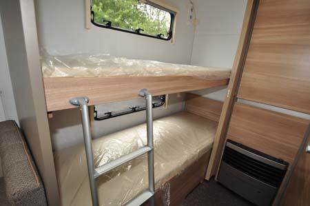 Adria Altea 552DT Tamar Bunk beds