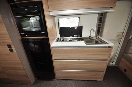 Adria Altea 552DT Tamar Kitchen