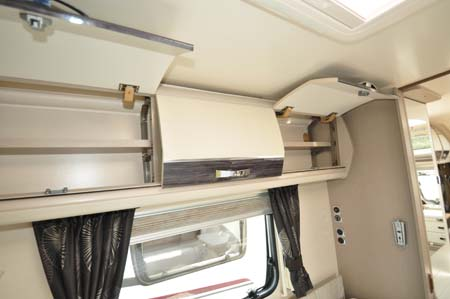 Sterling Continental 565 overhead storage (2)