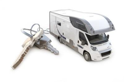 Motorhome and keys