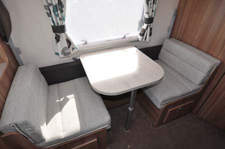Swift Challenger 530 Dining Room