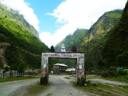 Entry to Manang
