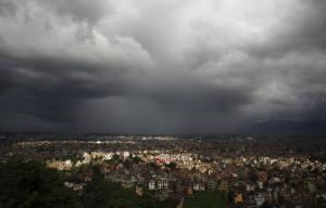 Monsoon in Kathmandu