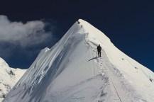 Donovan on Island Peak descent
