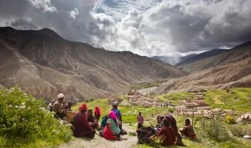 Inhabitants of Upper Dolpo region