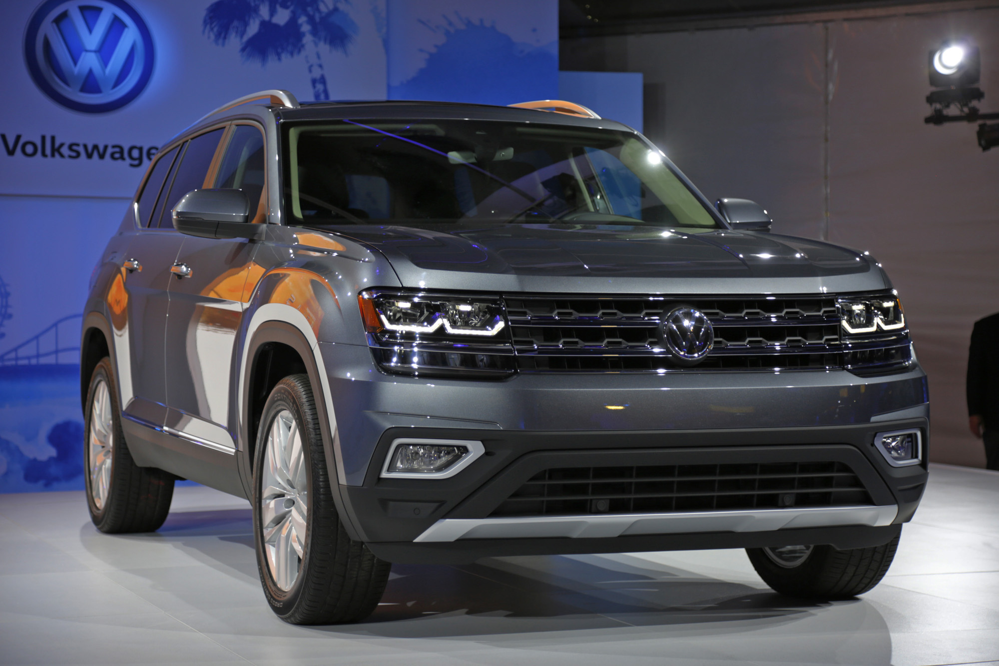 Creative First Look 2018 Volkswagen Atlas  It Will Likely Be A