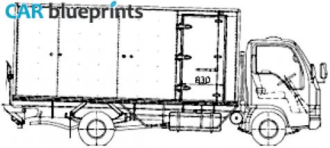 2006 isuzu truck Schaltplang