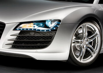 Audi R8 LED Headlights