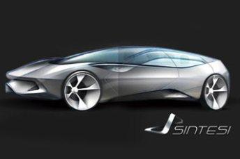Pininfarina Sintesi Design Sketch