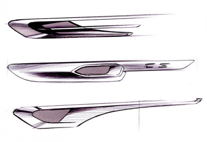 2015 Audi A8 - Headlight and Tail Light Design Sketches Head - vehicle release form