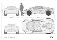 Camal Ramusa Concept - Package Blueprints - Car Body Design