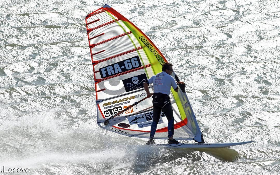 High Speed Windsurfing at Luderitz
