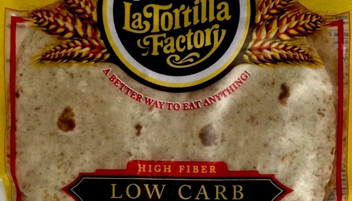 Regular Whole Wheat Smart & Delicious Low Carb Tortillas 7 inch (Regular Size) by La Tortilla Factory