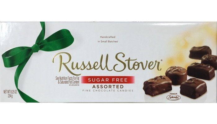Russell Stover Sugar Free Assorted Candies 8.25 oz. box