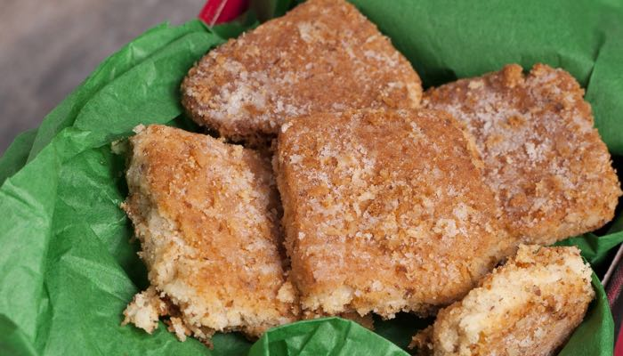Dana Carpender's Low Carb Merry Crispness Shortbread Cookies