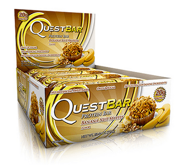 Quest Nutrition Banana Nut Muffin Bars Box