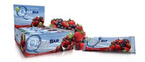 Quest Nutrition Mixed Berry Bars