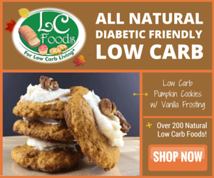 LC-Foods Low-Carb Pumpkin Cookie Mix
