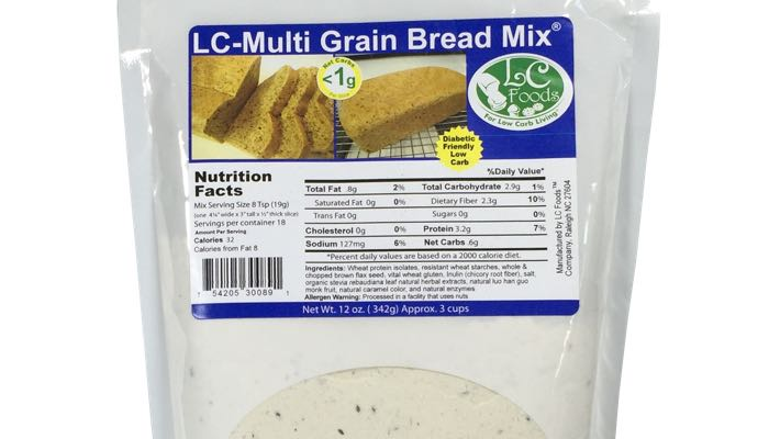 Low Carb Multi Grain Bread Mix by LC Foods