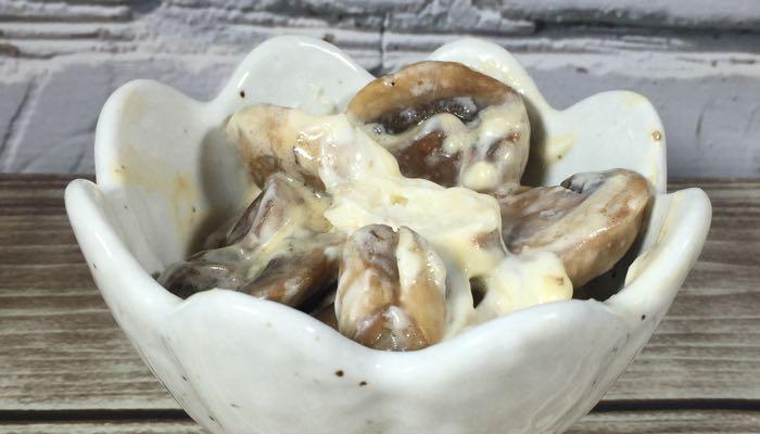 Garlicky Creamed Mushrooms Bonus Fat Fast Recipe From Fat Fast Cookbook