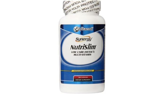 Vitacost Synergy NutriSlim Low Carb Dieter's Multi-Vitamin