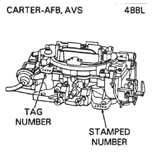 1988 Land Rover Wiring Diagrams Carburetor Identification Carter Holley Autolite