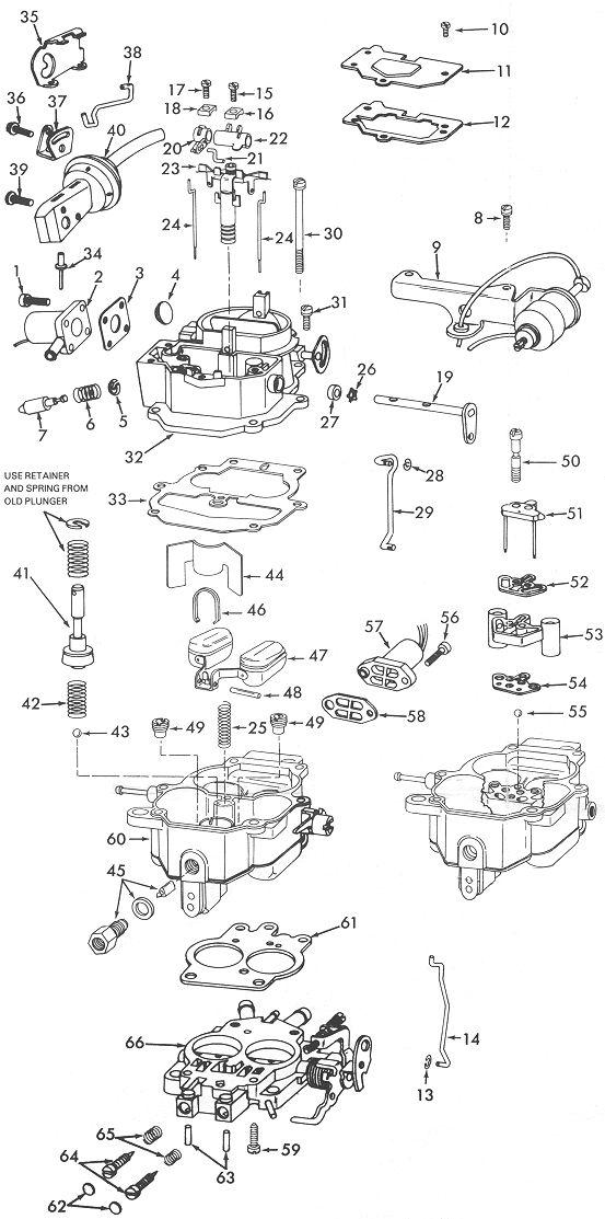 carter bbd carburetor diagram