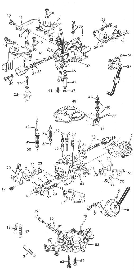1993 ford festiva Diagrama del motor
