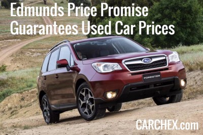 Edmunds Price Promise Guarantees Used Car Prices