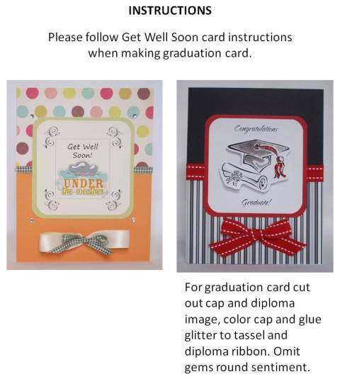 MAKE YOUR OWN GRADUATION CARDS - EXAMPLES OF HANDMADE CARDS
