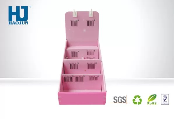 Pop Collapsible Counter Display Boxes Brochure Holder