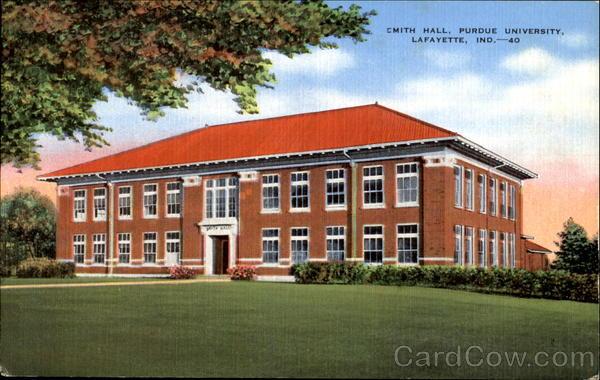 Smith Hall, Purdue University Lafayette, IN