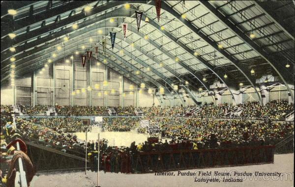 Interior, Purdue Field House, Purdue University Lafayette, IN