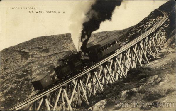 Jacob39s Ladder Cog Railway Mt Washington Mount
