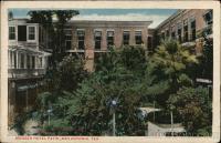 Menger Hotel Patio San Antonio, TX Postcard