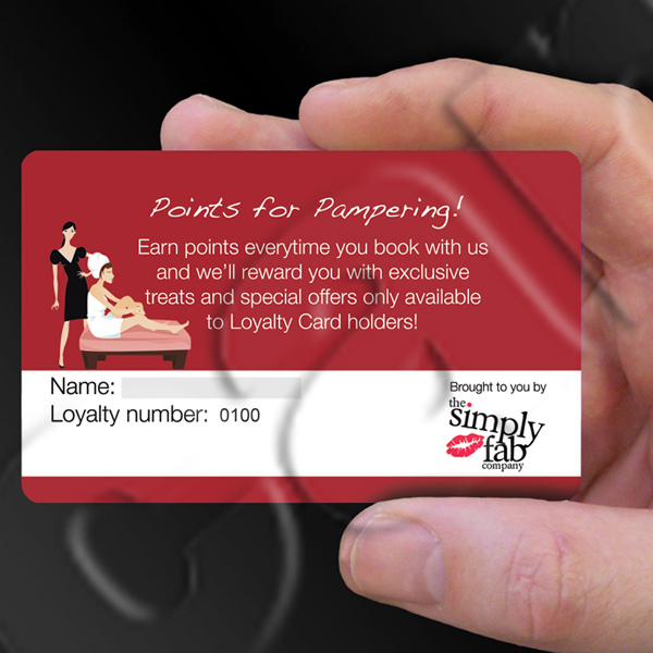Loyalty Cards - name card example